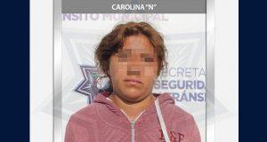 Caen dos presuntos responsables del robo a un Oxxo en Xochimehuacán