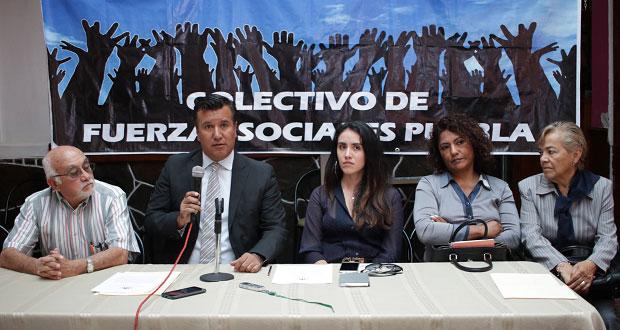 Denuncian a Armenta ante Fepade por usar senaduría para promoverse