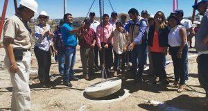 Comuna poblana acaba 8 obras hidrosanitarias en 4 juntas auxiliares