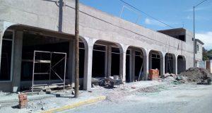 Construcción de foro cultural en colonia Patria Nueva va al 85%