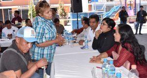 Cuautlancingo realiza segunda jornada de atención ciudadana