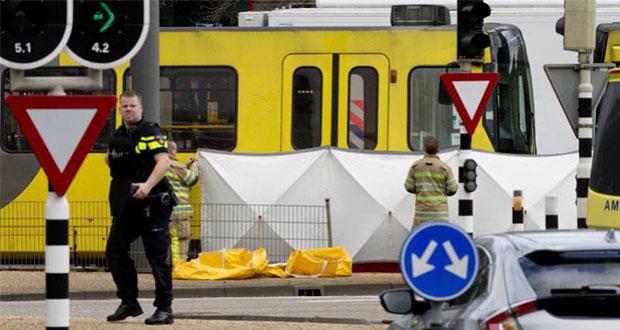 Detenido por tiroteo en tranvía de Holanda acepta responsabilidad