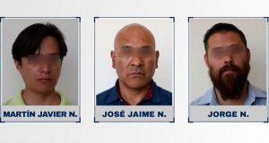 Detienen a 3 hombres por simular robo a cuentahabiente