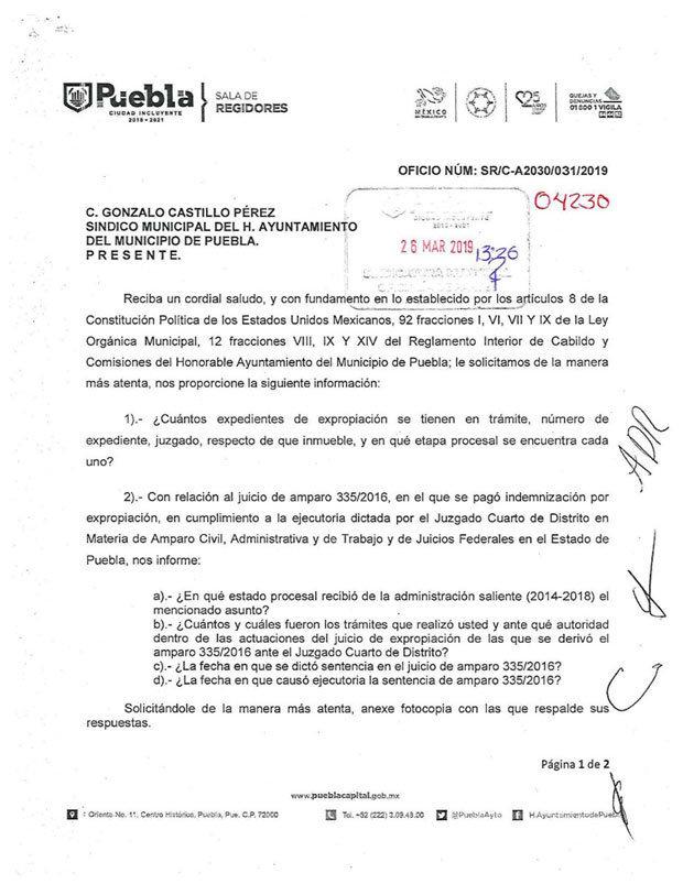 Comuna pierde juicio de expropiación por 15 mdp