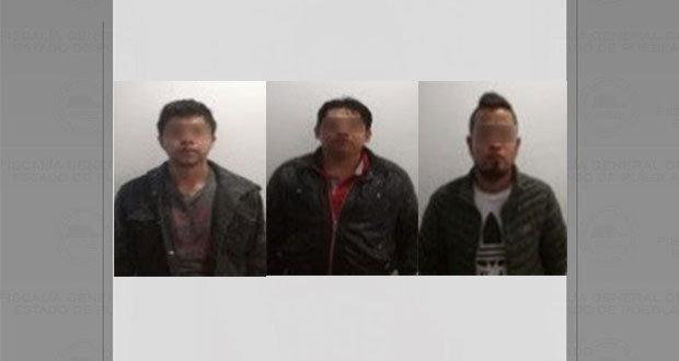 Vinculan a proceso a tres presuntos responsables de secuestro exprés