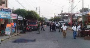 Ejecutan a cuatro hombres en restaurante de Ciudad Hidalgo, Chiapas