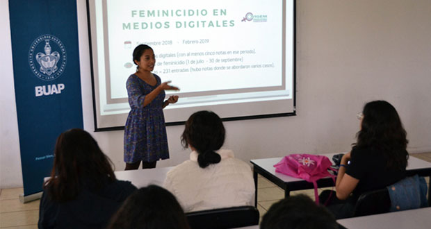 En BUAP analizan el tratamiento de feminicidios en medios digitales