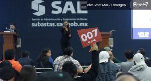 En Puebla, SCHP subasta inmuebles y bienes enajenados con valor de 400 mdp