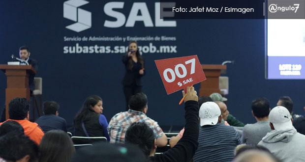 En Puebla, SHCP subasta inmuebles y bienes enajenados con valor de 400 mdp