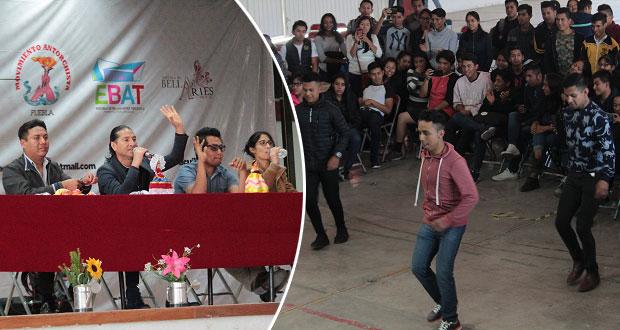En foro de Antorcha, explican a estudiantes evolución de son jarocho