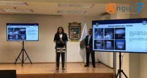 FGE recupera 52 piezas de fuente de San Roque en cateo en inmueble del CH