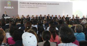 Asisten 6,100 personas a Foros de Participación Ciudadana para PED