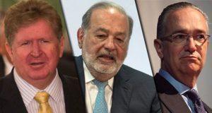17 mexicanos en lista de millonarios de Forbes, Slim es el número 1