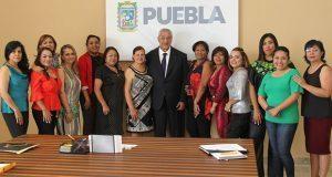 Gobierno estatal escucha propuestas de Red Plural de Mujeres