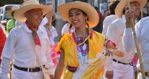 Grupos culturales de Antorcha acuden a fiesta patronal de Chietla
