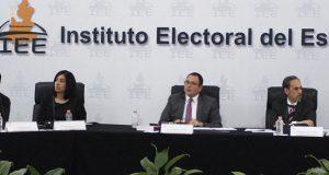 IEE pide ampliación de 26 mdp y boletas electrónicas en plebiscitos