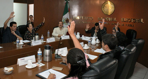 INE aprueba candidaturas a gubernatura y alcaldías en Puebla