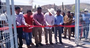 Inaugura Antorcha cancha de usos múltiples en Xayacatlán