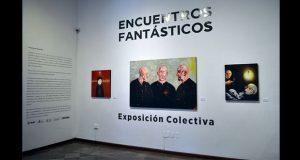 """Inauguran en la BUAP exposición colectiva """"Encuentros Fantásticos"""""""