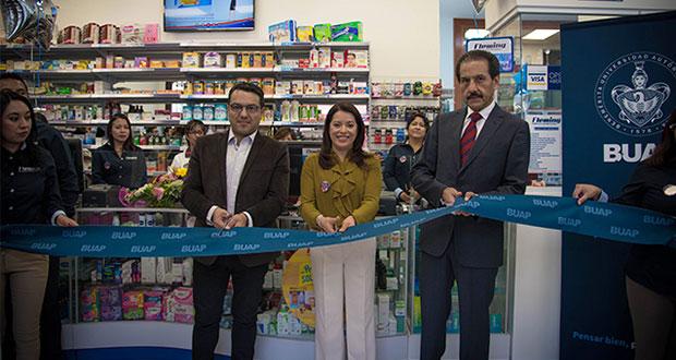 Inauguran remodelación y consultorio en farmacia de la BUAP en CH