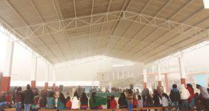 Inauguran techado de escuela primaria en comunidad de Ajalpan