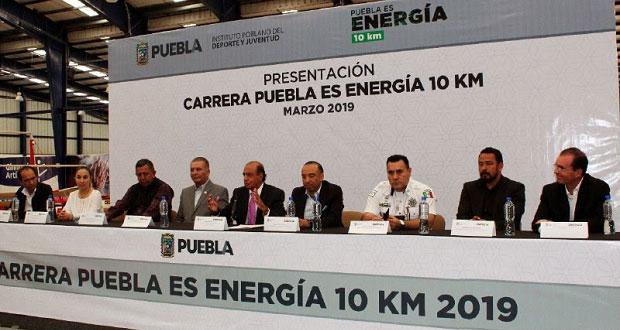 """Invitan a carrera de 10 km """"Puebla Es Energía"""" el 26 de mayo"""