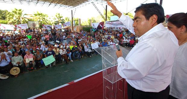 La sociedad poblana ya tiene libertad de expresión, resalta Barbosa