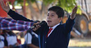 Movimiento Antorchista realiza eliminatoria de poesía en Izúcar