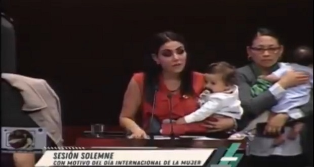 """Nay Salvatori señala en tribuna: """"Estoy hasta la madre"""""""