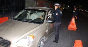 En Operativo Alcoholímetro, remiten 19 coches al depósito vehicular