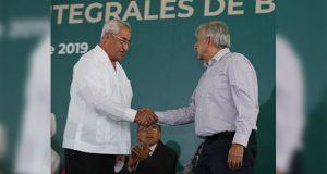 Pacheco cumple en labor de reconciliación, resalta López Obrador