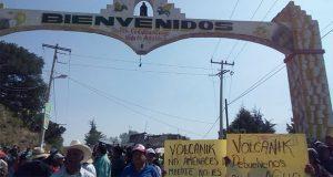 Pobladores de Ciudad Serdán acusan a Volcanic Park de dejarlos sin agua