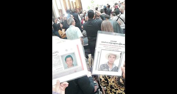 Reinstalacion del Sistema Nacional de Búsqueda de personas desaparecidas