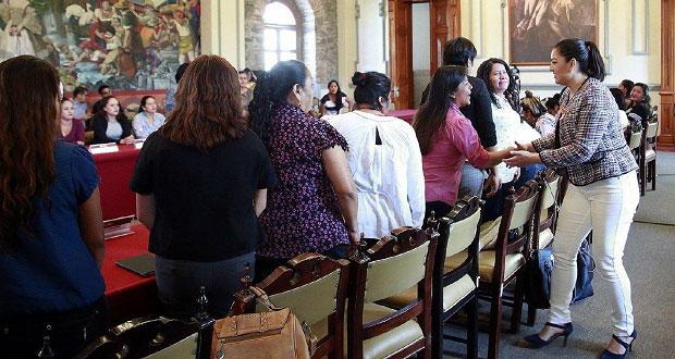 Rivera llama a presidentas auxiliares electas a unir esfuerzos