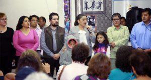 Rivera y vecinos de Maestro Federal plantean acciones de seguridad