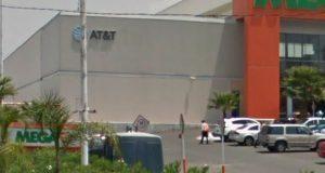 Roban celulares de sucursal AT&T en colonia Pino Suárez