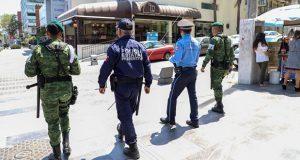 Sedena, SSP y Ssptm previenen delitos en negocios de Puebla capital