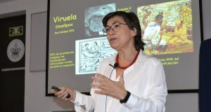 En la BUAP, experta habla sobre mitos y realidades de las vacunas