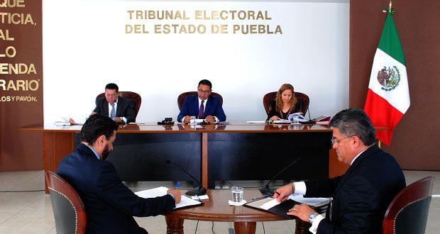 IEE también organizará elecciones en juntas auxiliares de San Martín y Tepanco