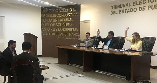 TEEP da tres días a Tepexi para reabrir caso de junta auxiliar