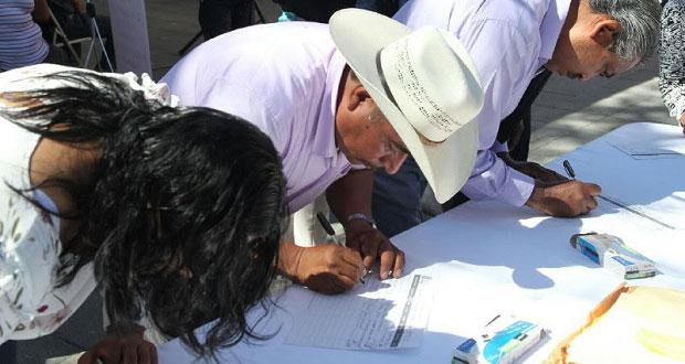 En Tehuacán, plantean a gobierno estatal atender pobreza y violencia