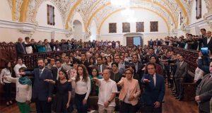 Toman protesta 175 nuevos consejeros universitarios de la BUAP