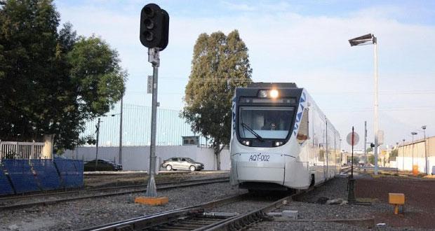 Por 4 meses, recorridos gratuitos en Tren Turístico Puebla-Cholula