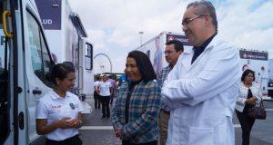 Unidades móviles de Salud darán servicios gratis en Triángulo Rojo