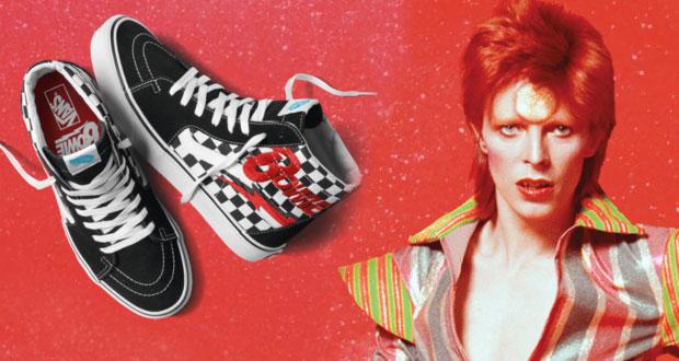Vans presenta nueva colección inspirada en David Bowie