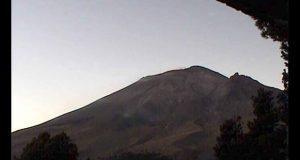 Actividad del Popocatépetl, dentro de alerta Amarilla Fase dos: PC