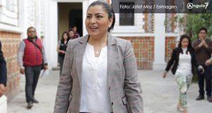 Claudia Rivera descarta buscar reelegirse como alcaldesa para 2021