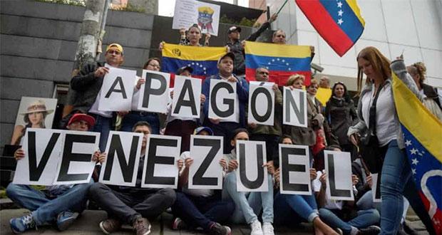 Fiscalía de Venezuela pide investigación contra Guaidó por apagón