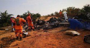 Accidente de avión en Colombia deja 14 muertos