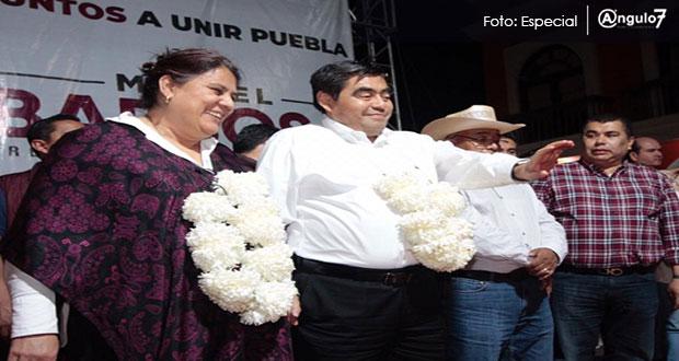 """""""Soy factor de unidad"""", asegura Barbosa; López Zavala lo respalda"""